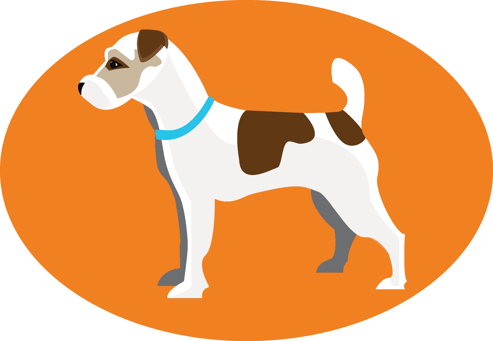 Scout's Pest Control - Dog Logo