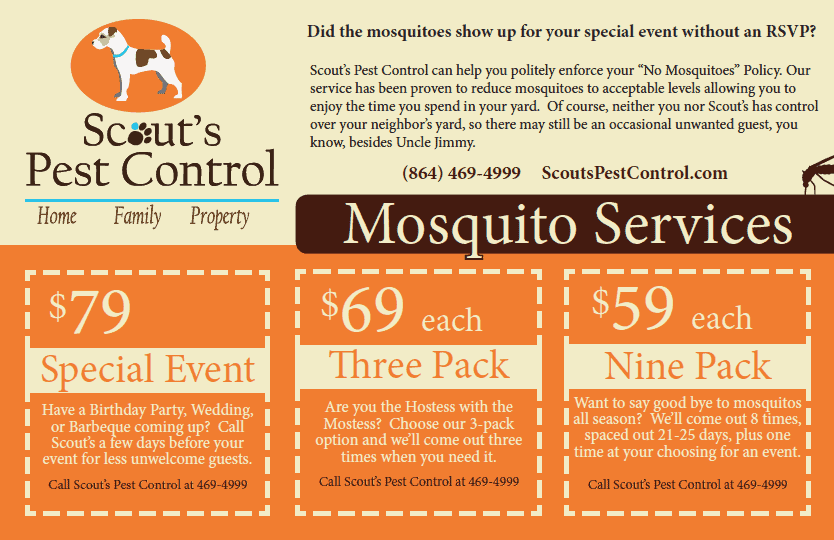 Save Money on Mosquito Services